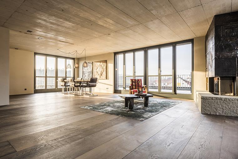 Neubau Attika Wohnung Raumpunkt Gmbh